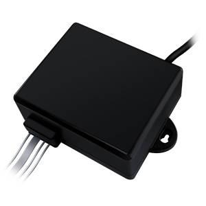 The vibe control. Small black box control.
