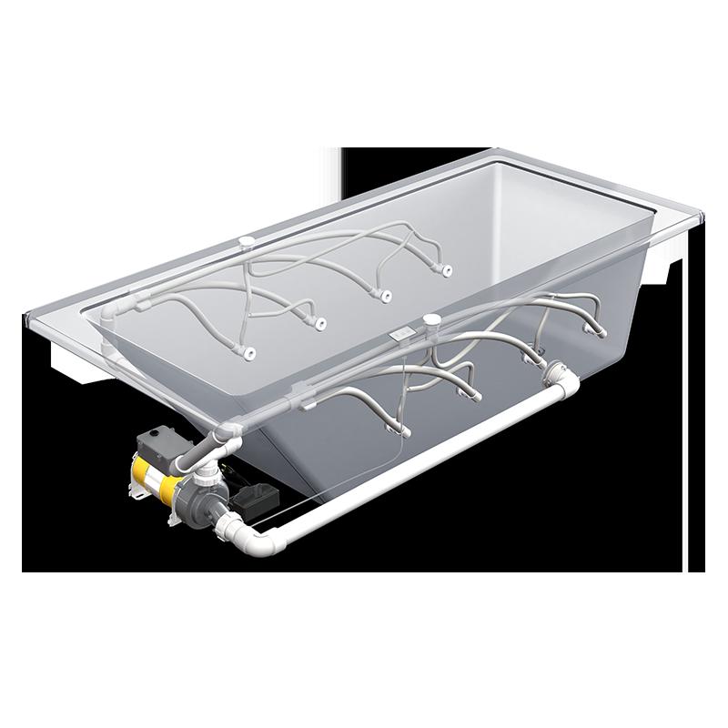 Micro-Whirlpool installation