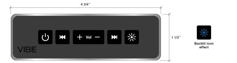 CG Air Vibe keypad specifications